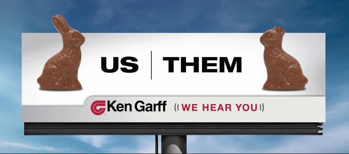 Screenshot of Ken Garff Ad